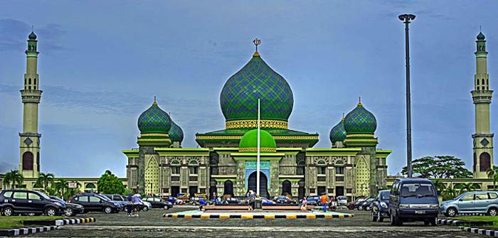 ternyata masjid an nur pekanbaru masuk 6 masjid megah di indonesia rh klikriau com